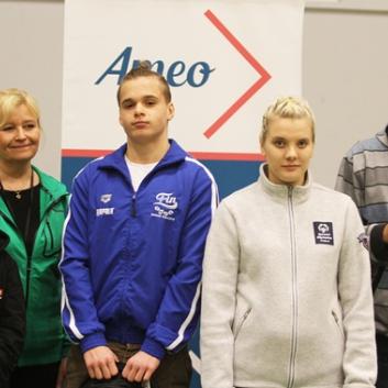 AMEO-stipendit viidelle nuorelle vammaisurheilijalle