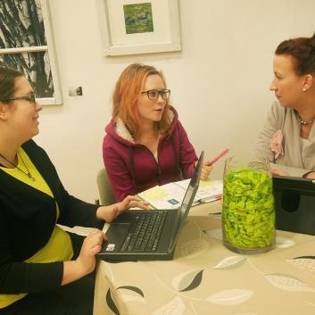 Opiskelijat tarjoavat toimistopalveluita Etälässä