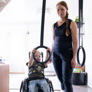 Esteetön koti vammaisen lapsen ehdoilla