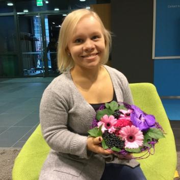 Jenni Kuusela sai Nuori Toimija -tunnustuksen