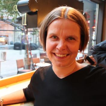 Kuva järjestötyön asiantuntija Nina Patasesta
